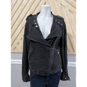 FATE by LFD Moto Asymmetrical Jacket in Black